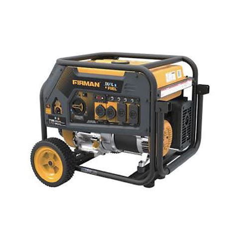 firman 5700 watt hybrid dual fuel propane gas powered