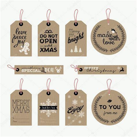 Flaschenaufkleber Weihnachten by Satz Von Weihnachten Und Neujahr Geschenkanh 228 Nger