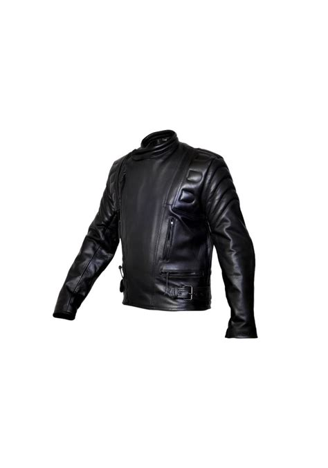 padded motorcycle jacket men s limo padded cowhide motorcycle leather jacket men