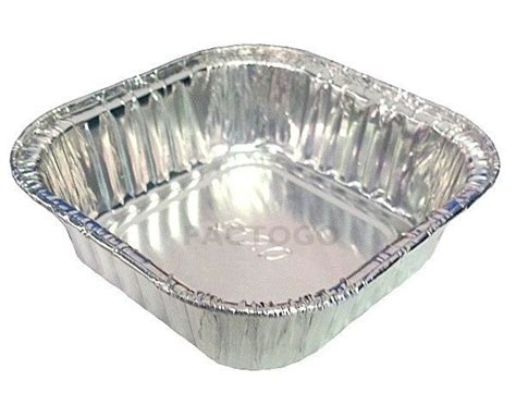 Bima Baking Pan Aluminium 3 1 2 quot mini square aluminum foil cake pan 4 oz disposable baking food tins ebay