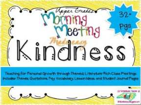 theme in literature song morning meeting activities for kindness theme in