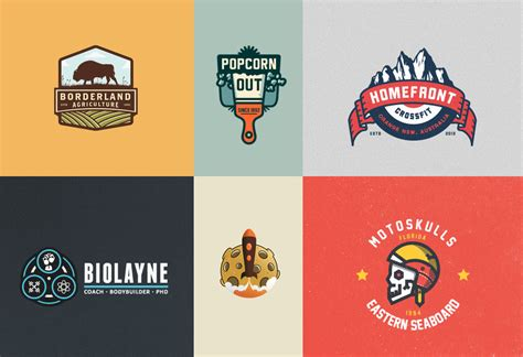 pattern logos design 30 great emblem logo design inspiration
