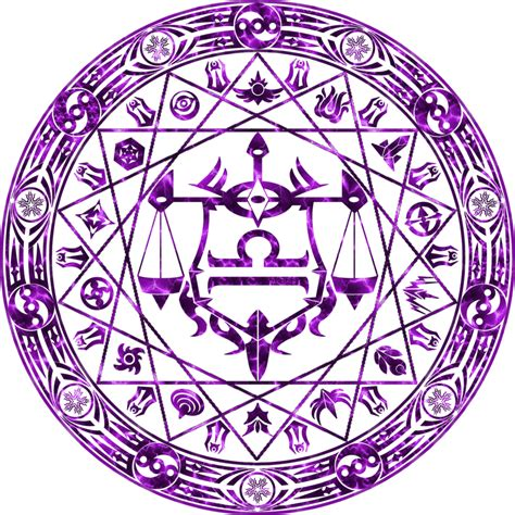 Magic Circle libra s magic circle cardo virtus iustitia by