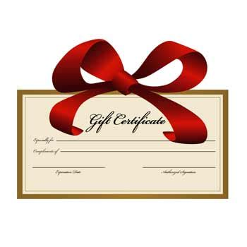 magazine subscription gift certificate template development and los angeles web design