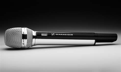 Mic Microphone Wireless Sennheiser Skm 9000 Multi Channel sennheiser skm 5200 ll chrome mic