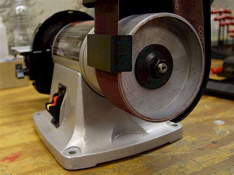 bench grinder belt sander conversion bench grinders