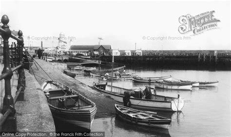 boat harbour club cinema photo of scarborough fishing boats in the harbour c 1955