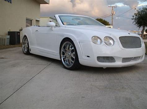 Bentley Continental Replica Bentley Continental Gtc Based On Chrysler Sebring For Sale