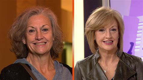 over 60 makeover oh my southern belle goes from gray to glam today com