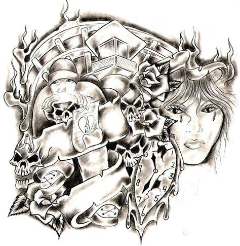 prison style tattoo designs prison by crazy8zzz on deviantart