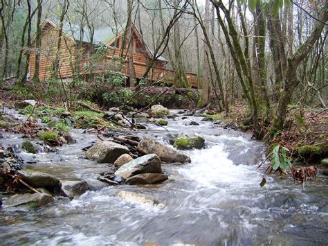 Mountain River Cabins by Creek Front Mountain Cabin With Vrbo
