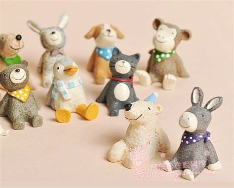 cute figurines cute figurines polymer clay pinterest