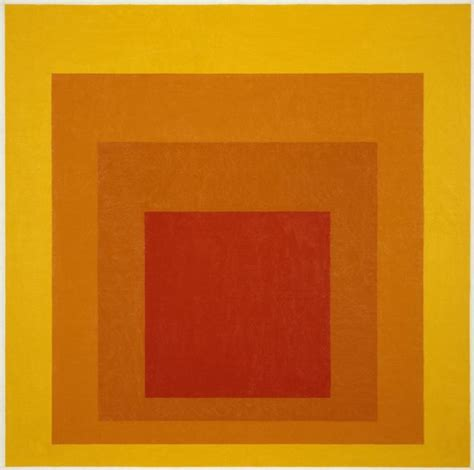 josef albers quot homage to the square glow quot 1966