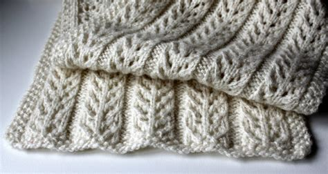 knitting pattern for scarf uk hand knitted things birch trees scarf free pattern