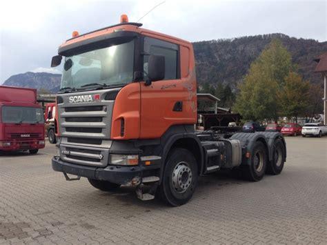 scania r500 6x4 kipphydraulik tractor unit from austria