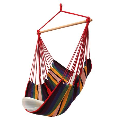 hammock swing chair garden patio hanging thicken hammock chair indoor outdoor
