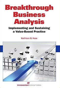 the pmi guide to business analysis books breakthrough business analysis a book review