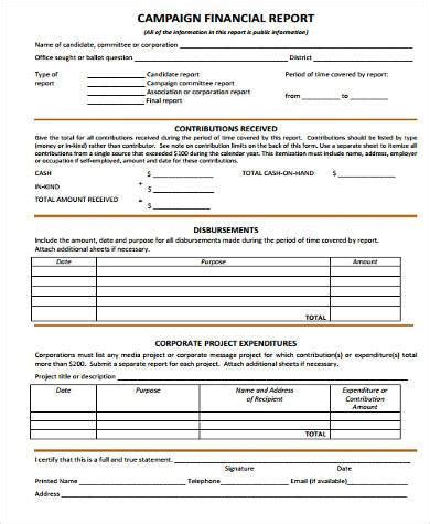 financial questionnaire template sle financial report forms 8 free documents in word pdf