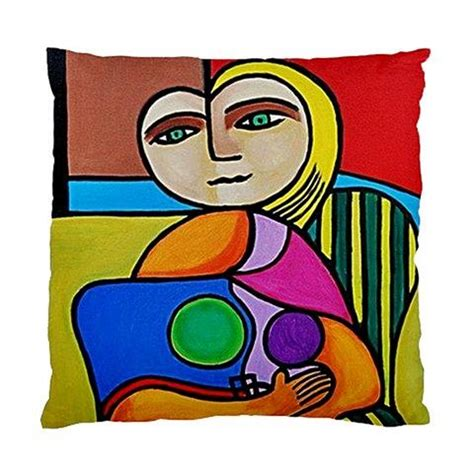 what style of did picasso use picasso style sided pillow cover no 1 tapestry