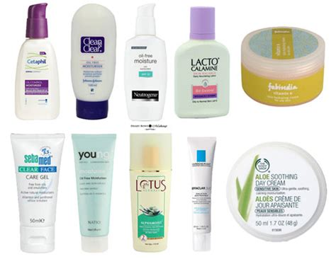 Top 10 Products For Sensitive Skin by Best Moisturizer For Acne Prone Sensitive Skin In India