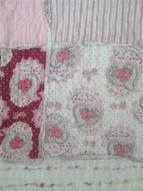 Pastel Pink Tosca Pc Set Shabby Chic Cover Baju Bungkus Komputer 3pc pottery pink antique barn chic shabby rag white