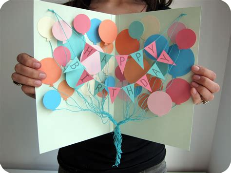 Diy Birthday Cards For Party Accessories Just About The Coolest Diy Birthday