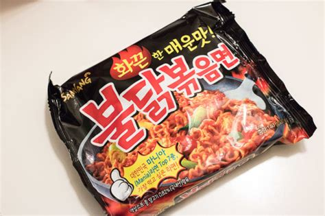 how to prepare for a spicy food challenge 불닭볶음면 korean noodle challenge foodology