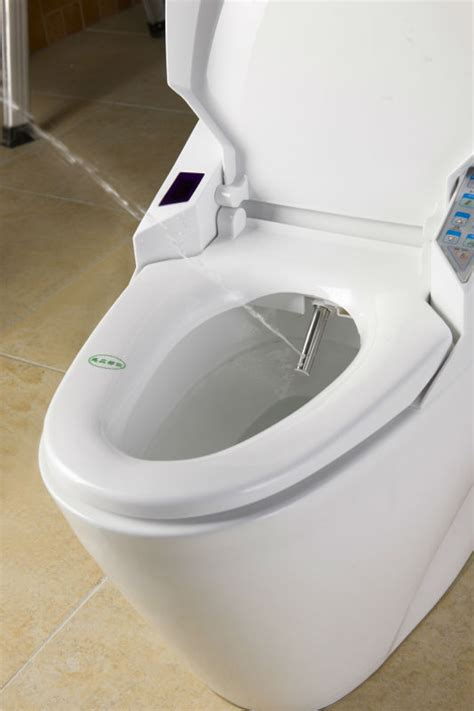 built in bidet toilet automatic toilet with built in bidet contemporary square