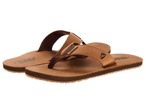 reef smoothy sandals reef reef leather smoothy zappos free shipping both ways