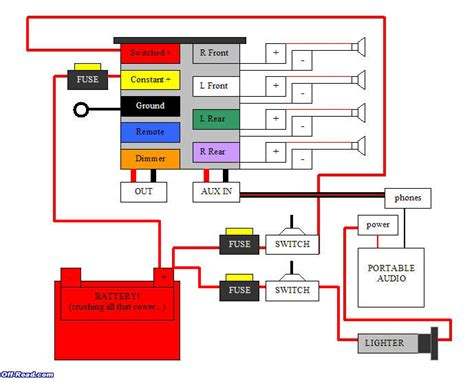 car deck wiring diagram the oddly compelling stand alone switched deck