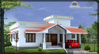Narrow House Floor Plans Front Elevation Of Single Floor House Kerala Gallery With