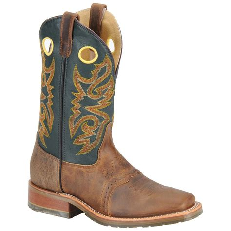 square toed cowboy boots for s h boots 174 square toe ice roper boots oldtown