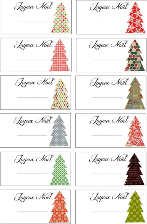 joyeux noel gift tags printable cosas que me gustan