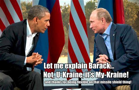 Putin Obama Meme - obama putin funny