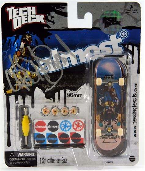 tech deck almost giveaway tech deck releases 100 autographed fingerboards