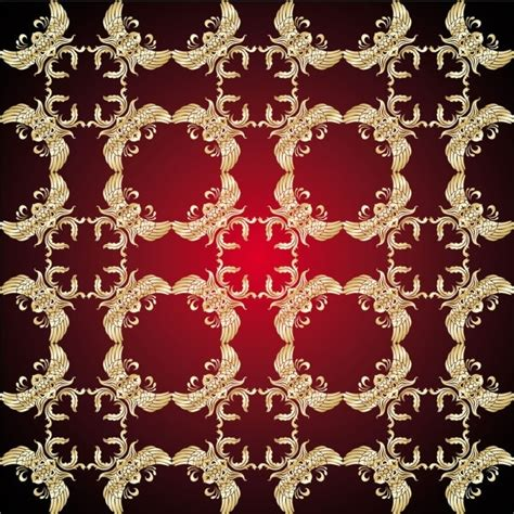 gold pattern free download gold pattern shading 05 vector free vector in encapsulated