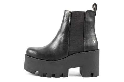 windsor smith windsor smith alien boots black