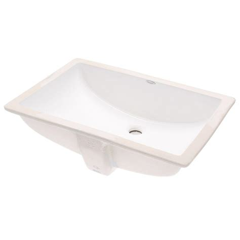 standard studio sink standard studio rectangular undermount bathroom