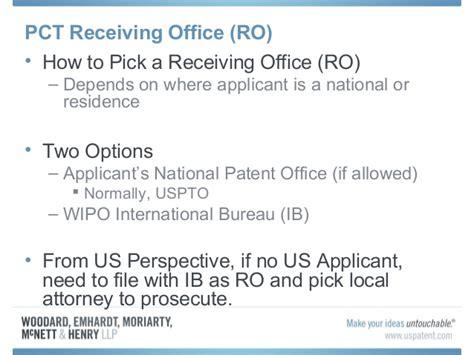 international bureau wipo pct practice presentation