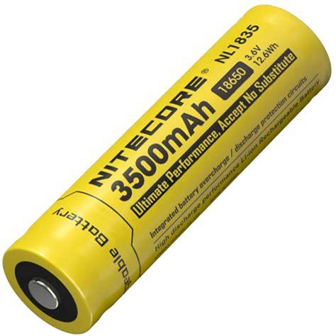 Nitecore 18650 Baterai Li Ion 3500mah 3 6v Nl1835 nitecore 18650 baterai li ion 3500mah 3 6v nl1835 black yellow jakartanotebook