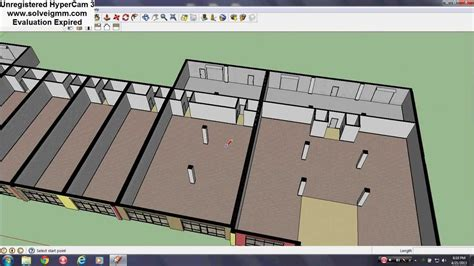 sketchup layout warning sign sketchup commercial spaces youtube