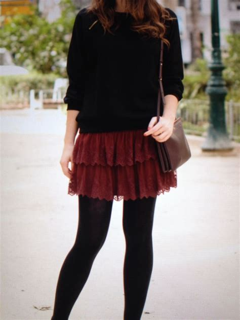 7 Favorite Winter Skirts by 17 Best Images About Burgundy Skirts And Shorts On