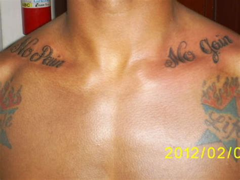 no pain no gain tattoo no no gain