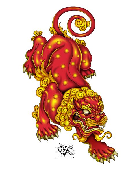japanese lion tattoo japanese search inspiration
