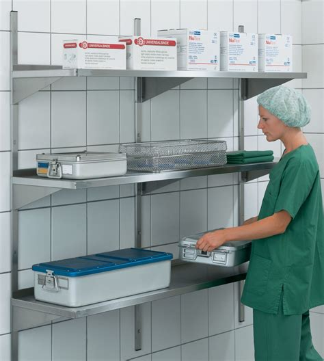 stainless steel shelving wall wall mounted shelving tbj inc stainless steel shelving