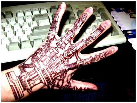 biomechanical wrist tattoo biomechanical on wrist tattooimages biz