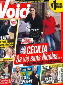 couverture du magazine quot voici quot n1041 du 22 au 28 octobre