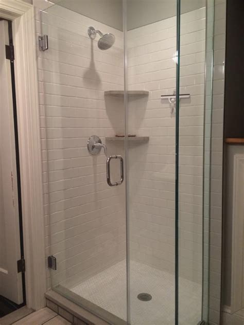 Kitchen Remodel: Shower Stall   Jack Edmondson Plumbing and Heating