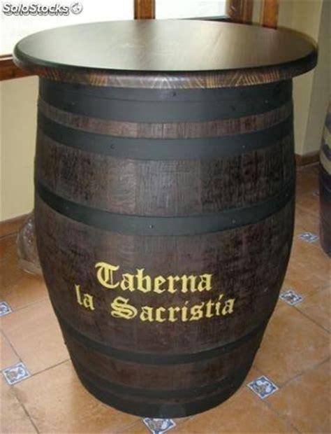 barricas barriles toneles  mesas botelleros mostradores maceteros  barato