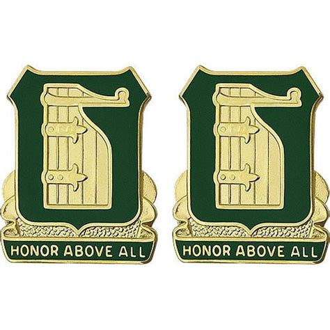 Above All Honor 91st battalion unit crest acu army